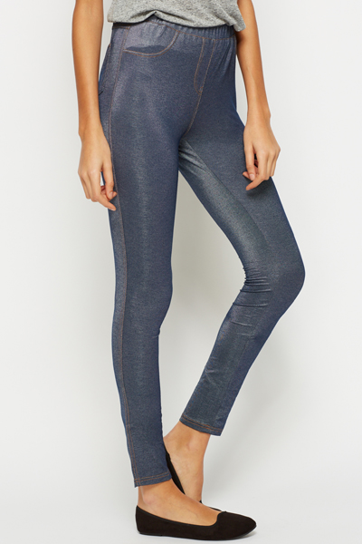 Classic Blue Jeggings