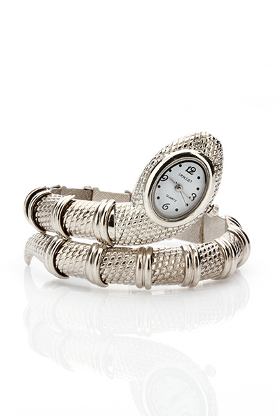 Metal Bracelet Snake Watch