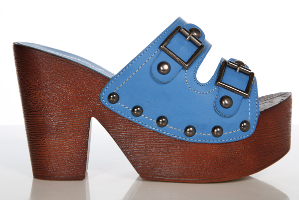 Double Buckle Clog Shoes