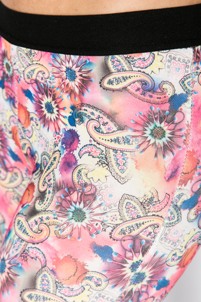 Bright Paisley Print Leggings