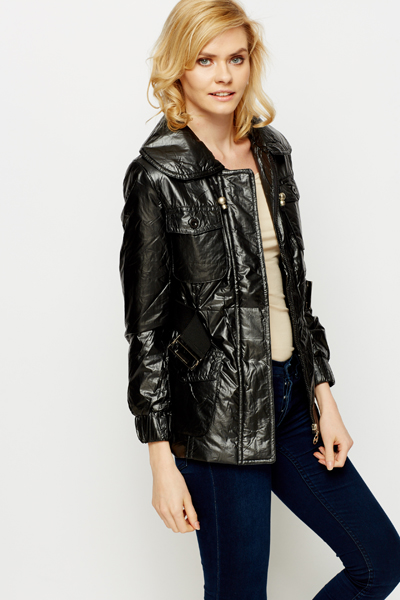 Large Collar Outerwear Jacket