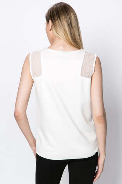 Mesh Shoulder Top