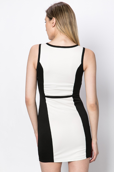 Cut Out Front Mono Dress