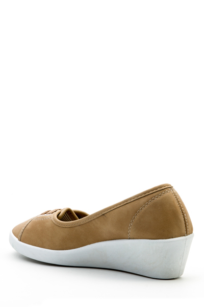 Wedge Slip On Shoes