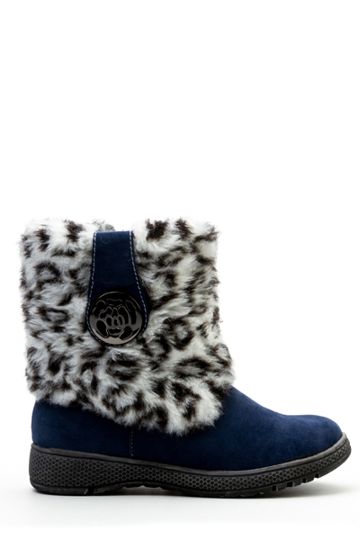 Faux Fur Short Boots