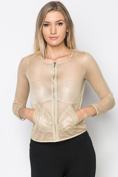 Perforated Jacket