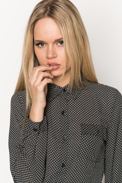 Graphic Printed Blouse