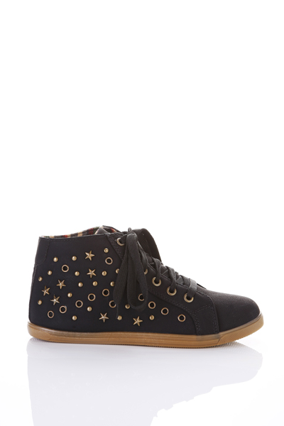 Star Studded Ankle Shoes