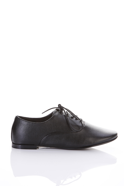 Classic Faux Leather Brogues