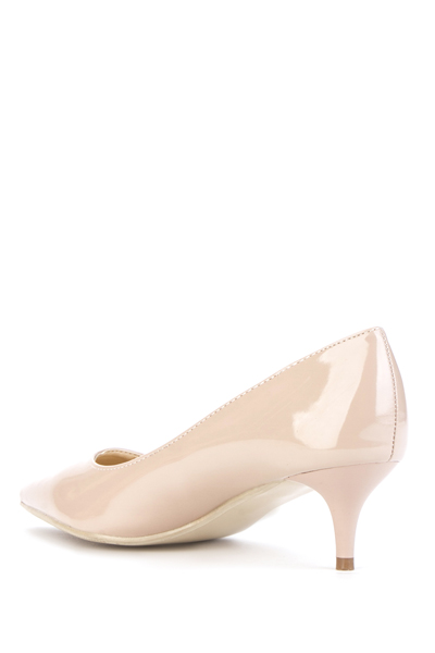 Kitten Heel Pointed Shoes