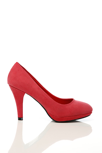 Classic Suedette Pump Shoes