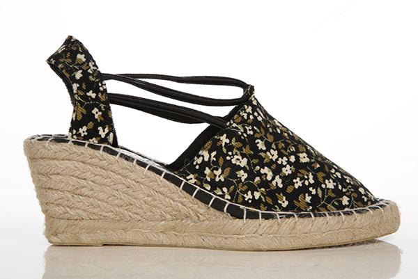 d5be21a2820c Floral Canvas Wedge Espadrilles Sandals - Just £5