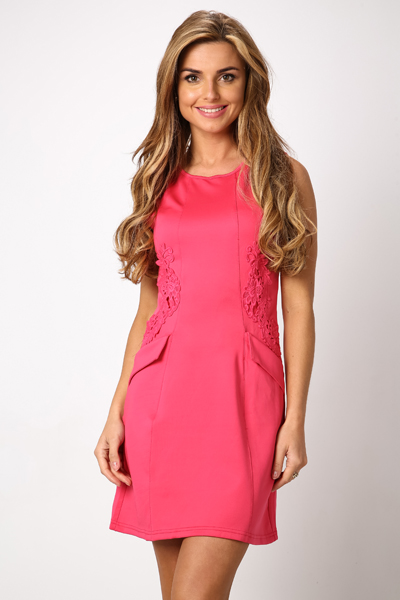 Side Embroidered Dress