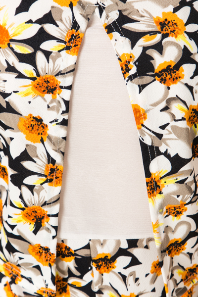 Daffodil Print Dress