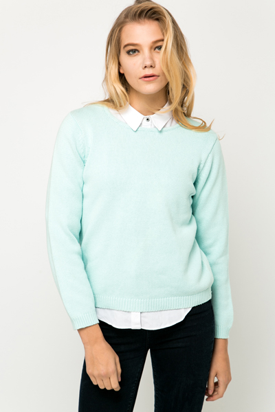 Knitted Box Jumper