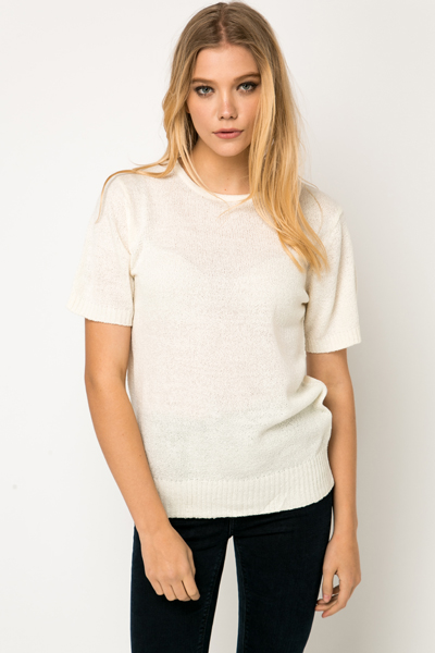 Short Sleeve Jumper
