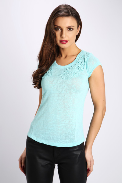 Crochet Applique Top