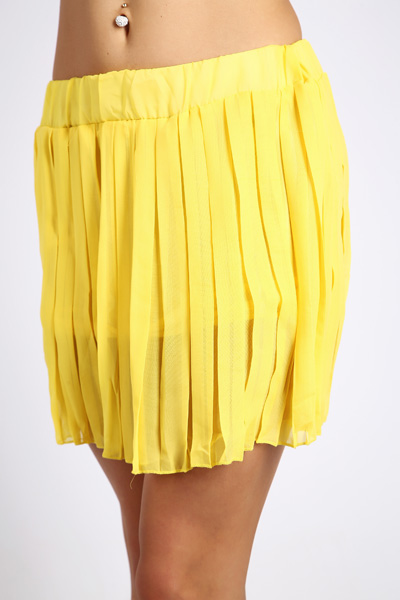 Mini Pleated Skirt