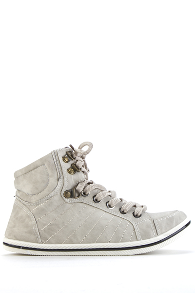 Padded Hi-Top Shoes