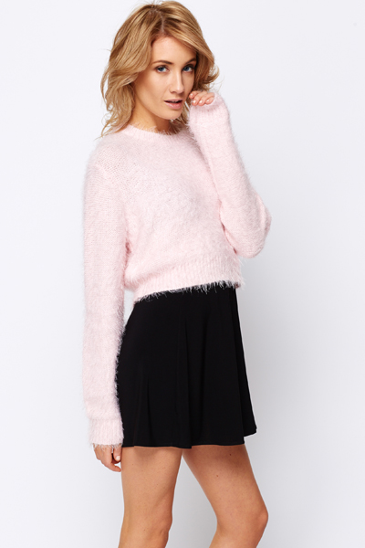 Fluff Knitted Jumper