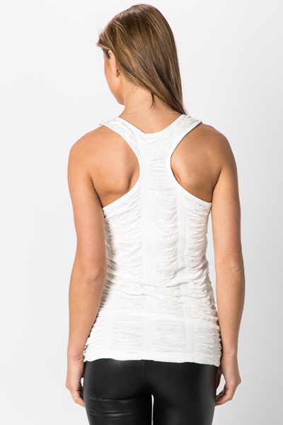 Shirred Vest Top
