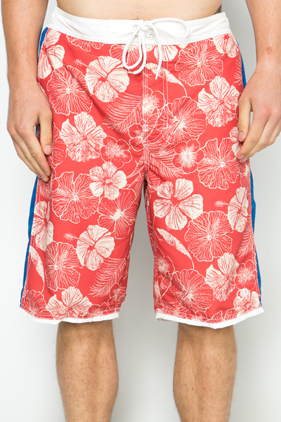 Floral Panel Board Shorts