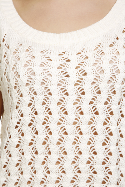 Crochet Cropped Jumper