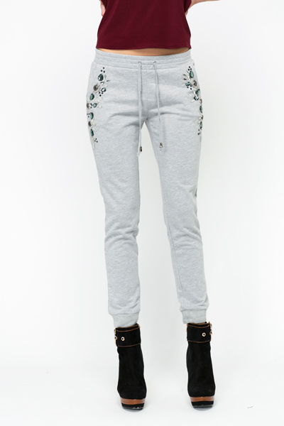 Embellished Pocket Jogging Bottoms
