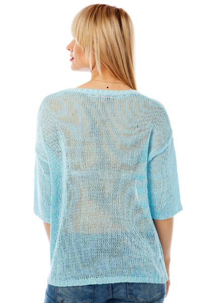 Soft Knit Pocketed Tunic Pullover