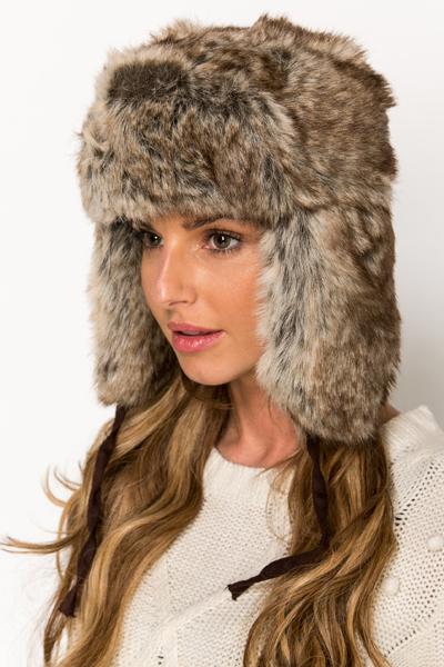 e5dcf67d980 Classic Faux Fur Winter Hat - Just £5