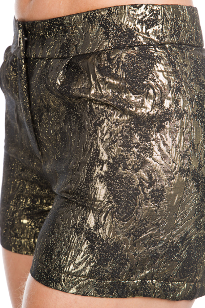 Metallic Patterned Shorts
