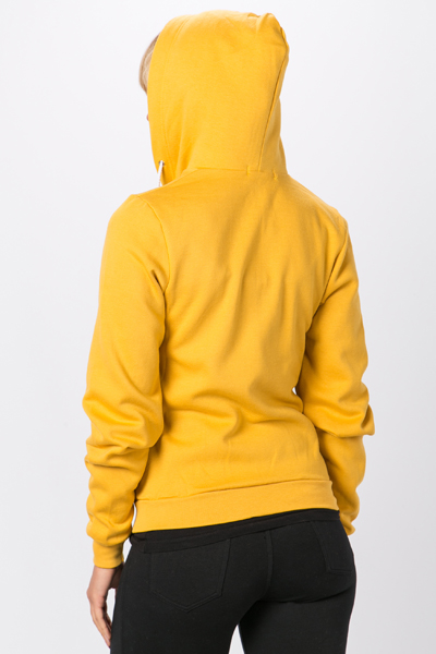 Colourful Fleece Hoodie
