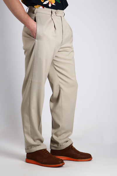 Tailored Grey Trousers