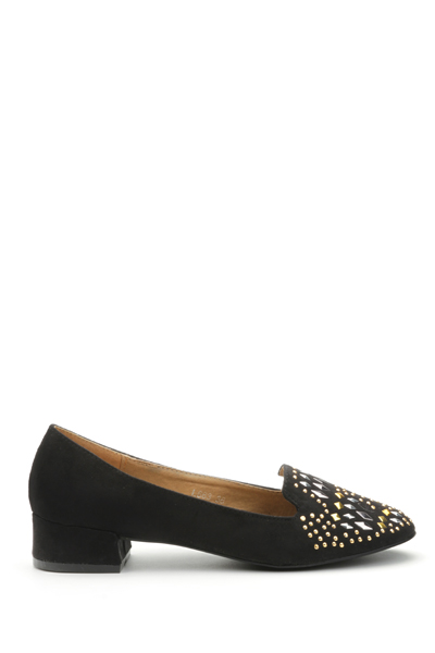 Studded Slip-On Shoes