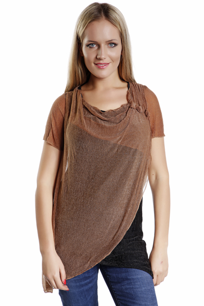 Layered Drape Top