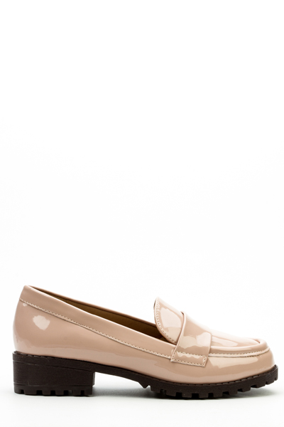 Patent PU Loafers