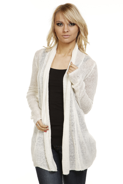 Soft Knit Open Front Cardigan