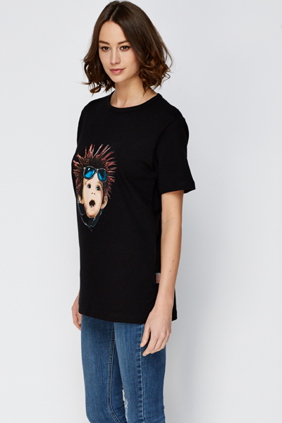 Punk Body Print T-Shirt