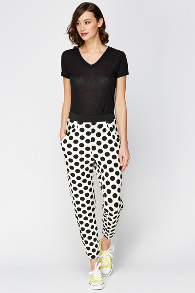 Polka Dot Casual Leggings