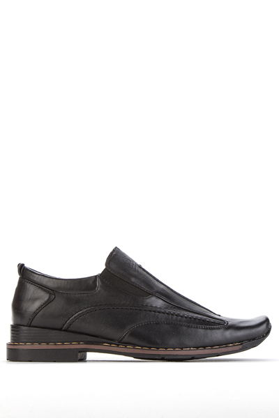 Faux Leather Slip-On Loafer Shoes