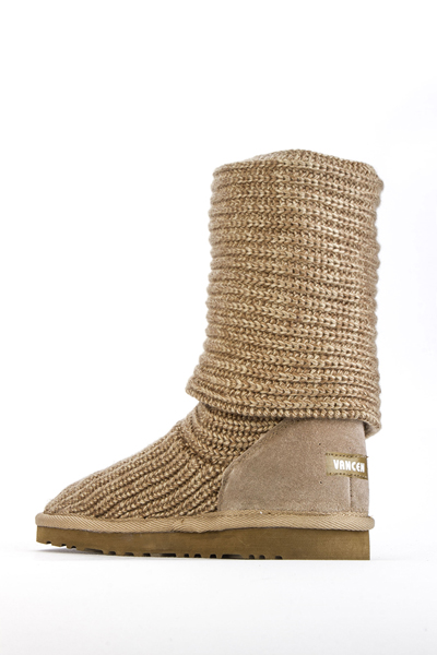 Knit Ankle Boots