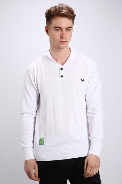 Small Logo Cotton Pullover