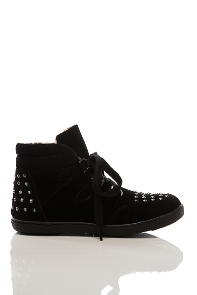 Studded Toe & Back Trainers