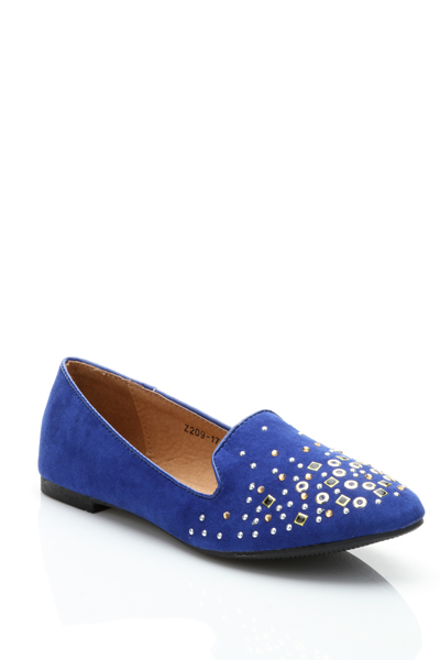Multi Stud Slip On Shoes