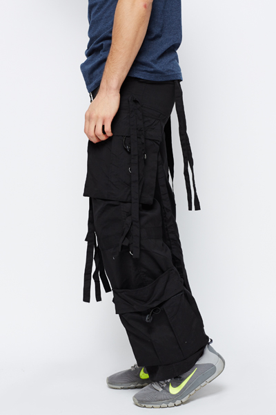 Combat Style Tassel Trousers Just 163 5
