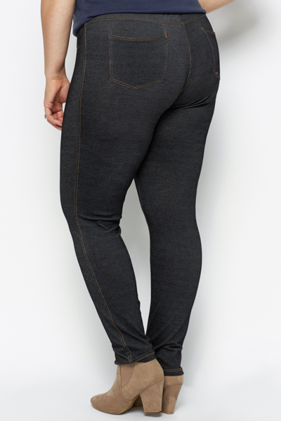Denim Effect Leggings