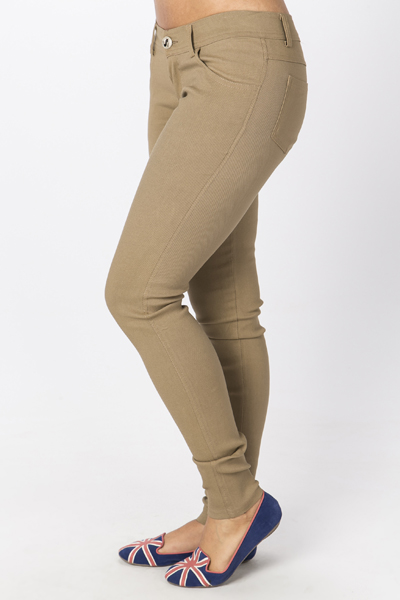 Elastic Stretch Trousers