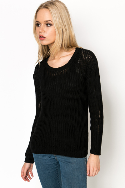 Loose Knit Casual Pullover
