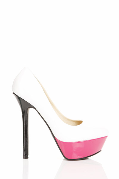 Colour Block PVC Shoes