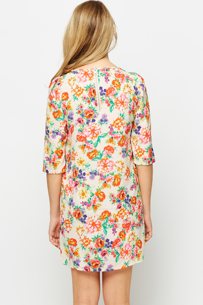 Fleur Shift Dress